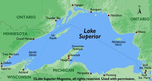 Can you see to the other side of Lake Superior