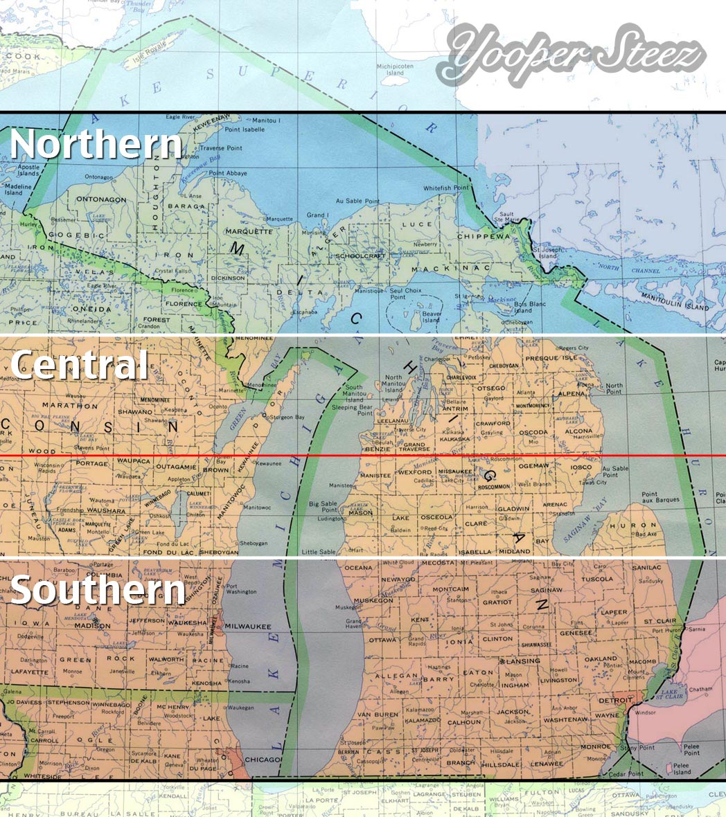What actually determines Northern Michigan